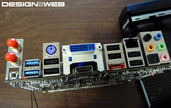 Mini ITX (MITX) Ofice PC Build with DVI, HDMI, Wireless