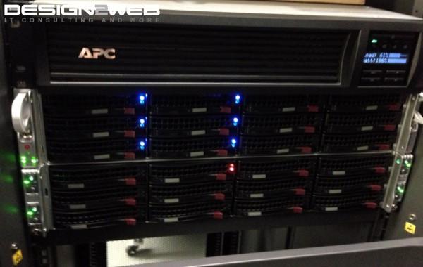 Supermicro 2U Twin Virtualization Servers