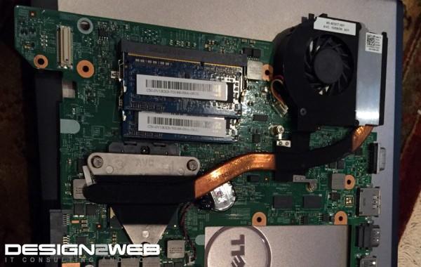 Dell Vostro Laptop Heatsink Fan Replacement