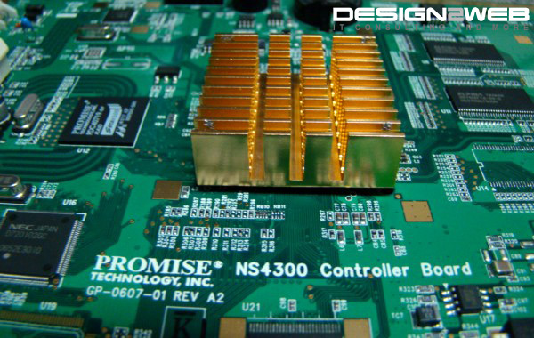 Promise SmartStor NS4300 Heatsink Hack