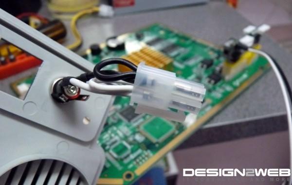 Promise SmartStor NS4300 Power Supply Hack