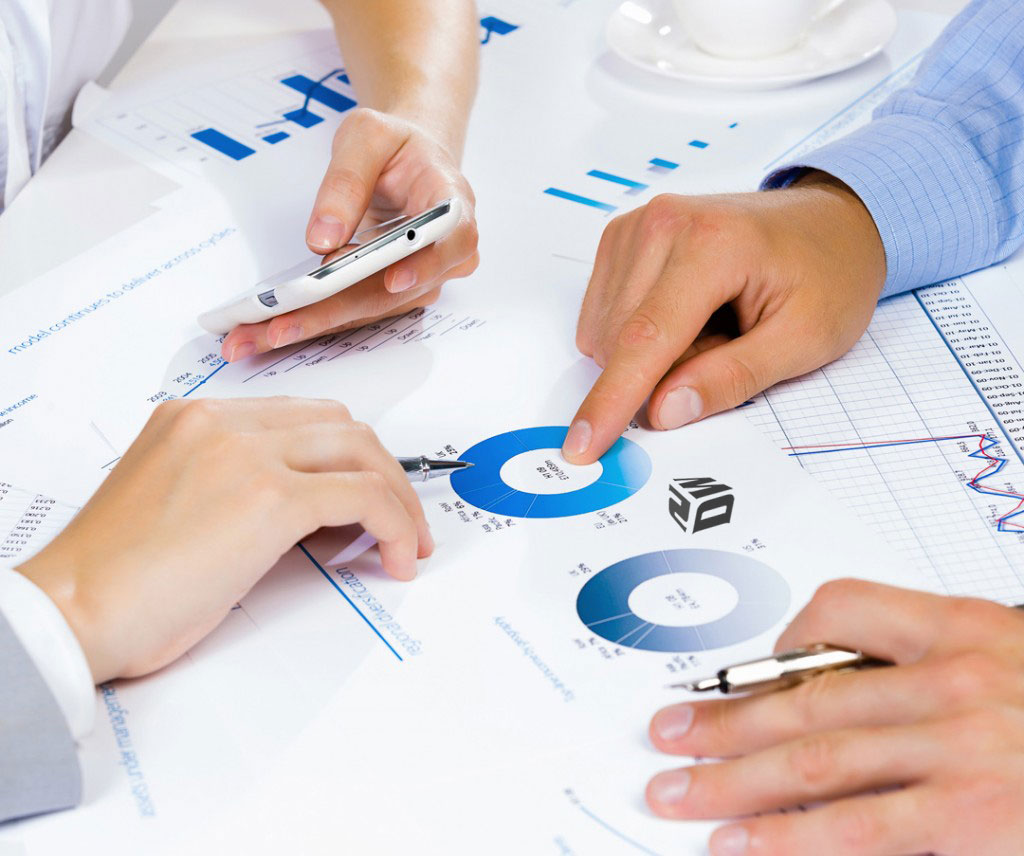 Business Consulting, Meeting, Collaboration, Pie Chart, Cell Phone