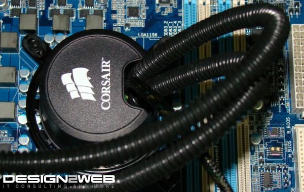 Corsair Liquid Cooling H50 Client PC