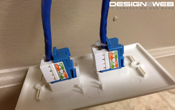 CAT6 Ethernet Extension Install