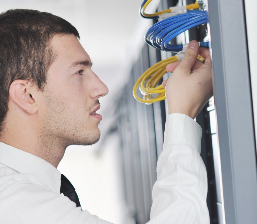 Managed IT Column, Technician, Network Cabling